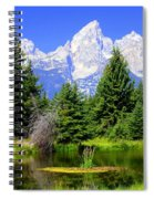 Tetons 3 Spiral Notebook