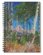Tetons And Aspens Spiral Notebook