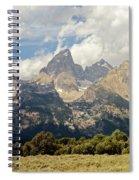 Tetons Grande 2  Spiral Notebook