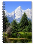 Tetons Spiral Notebook