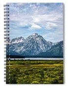 Tetons - Panorama Spiral Notebook