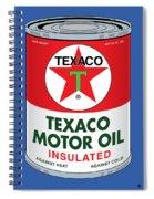Texaco Can Spiral Notebook
