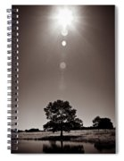 Texan Sun Spiral Notebook