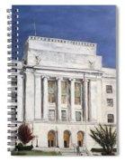 Texarkana Courthouse Spiral Notebook