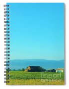 Texarkana Farm Scene Spiral Notebook