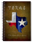 Texas ... The Lone Star State Spiral Notebook
