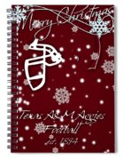 Texas Am Aggies Christmas Card Spiral Notebook