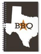 Texas Bbq Spiral Notebook
