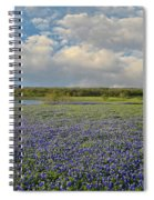 Texas Bluebonnet Bliss Spiral Notebook