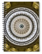 Texas Capitol Dome Spiral Notebook