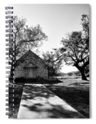 Texas Country Church Spiral Notebook
