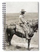 Texas: Cowboy, C1908 Spiral Notebook
