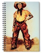 Texas Cowboy Spiral Notebook