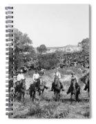 Texas: Cowboys, C1901 Spiral Notebook