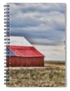 Texas Flag Barn #2 Spiral Notebook