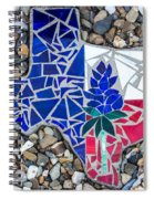 Texas Garden Stone Spiral Notebook