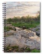 Texas Hill Country Sunrise - Llano Tx Spiral Notebook