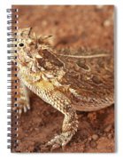 Texas Horned Lizard Spiral Notebook