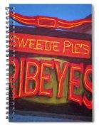 Texas Impressions Sweetie Pie's Ribeyes Spiral Notebook