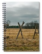 Texas In Tree Branches Spiral Notebook