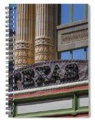 Texas Marquee Spiral Notebook
