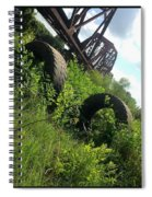Texas Railway And Tires Spiral Notebook