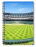Texas Rangers Ballpark Waiting For Action Spiral Notebook