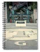 Texas Rangers Logo Spiral Notebook