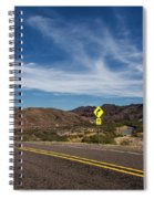 Texas River Road Spiral Notebook