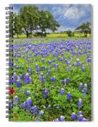 Texas Spring  Spiral Notebook