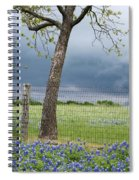 Texas Spring Storm Spiral Notebook