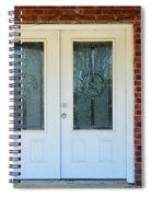 Texas Star Double Doors Spiral Notebook