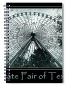 Texas Star Aqua Poster Spiral Notebook