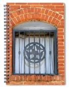 Texas Star Window Spiral Notebook