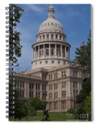 Texas State Capitol - Austin Tx Spiral Notebook