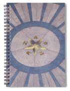 Texas State Capitol - Courtyard Floor Spiral Notebook