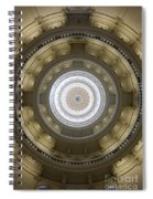 Texas State Capitol - Interior Dome Spiral Notebook