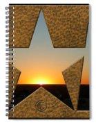 Texas Sunrise Spiral Notebook