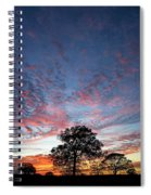 Texas Sunset Spiral Notebook