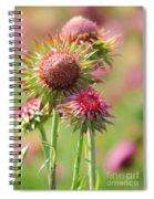 Texas Thistle 001 Spiral Notebook