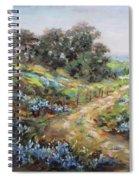 Texas Trail  Spiral Notebook