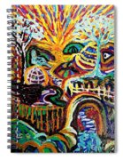 Texture Abstract  Spiral Notebook