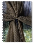 Texture And Lace Spiral Notebook
