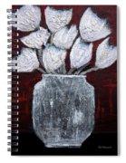 Textured Blooms Spiral Notebook