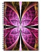 Textured Flower Spiral Notebook