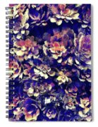 Textured Garden Succulents Spiral Notebook