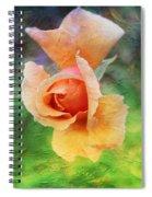 Textured Rose 3 Spiral Notebook