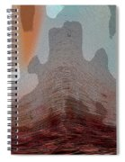 Textured Waves Spiral Notebook