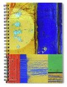 Textures Of A Thurdsay Spiral Notebook