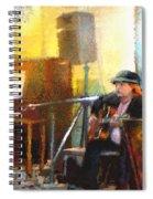 Tha Hambone Gallery In Clarksdale Spiral Notebook
